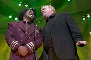 James Brown und Joe Cocker