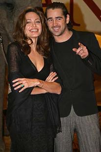 Angelina Jolie und Colin Farrell