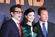 Johnny Knoxville, Arnold Schwarzenegger, Jamie Alexander