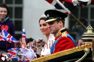 Prince William und Catherine, Duchess of Cambridge